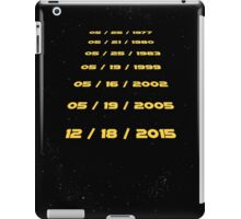 The Force Awaits iPad Case/Skin