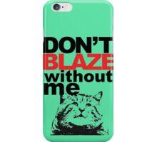 Blaze Cat iPhone Case/Skin