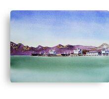 Richmond Oil Dock - Bay Area San Francisco  Canvas Print