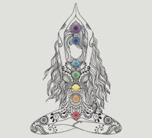 Yoga Om Chakras Mindfulness Meditation Zen 1 by yogaclothes