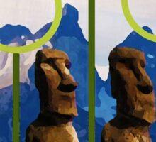 Easter Island Quidditch Sticker