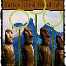 Easter Island Quidditch by Isaac Novak