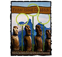 Easter Island Quidditch Photographic Print