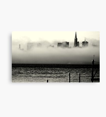 San Francisco Bliss... Canvas Print