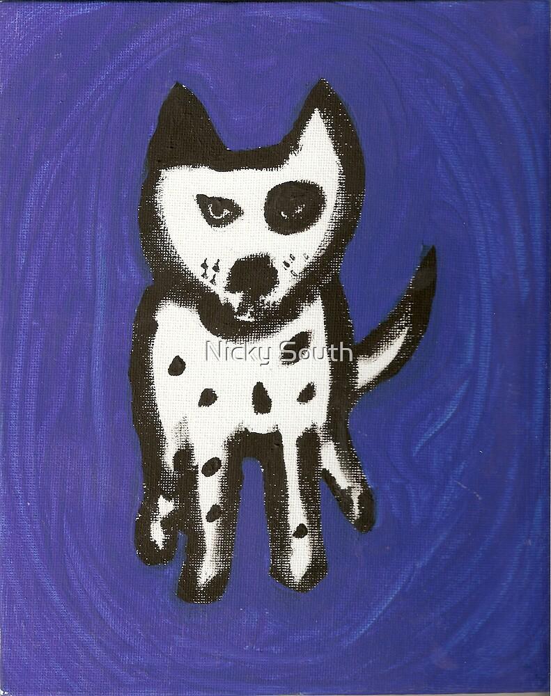 Blue Odie by Nicky South