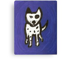 Blue Odie Canvas Print