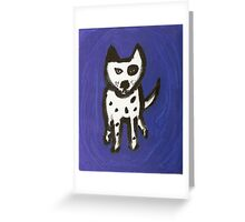 Blue Odie Greeting Card