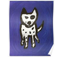 Blue Odie Poster