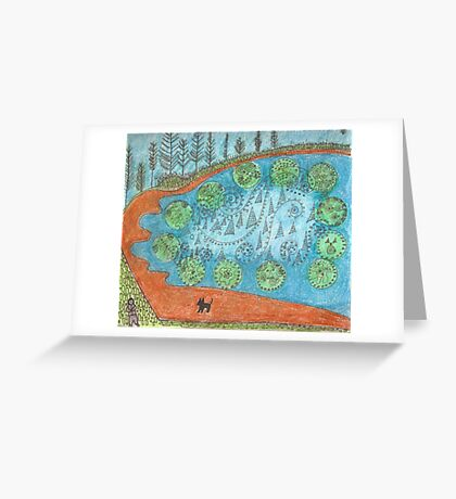 Horseshoe Bay Greeting Card