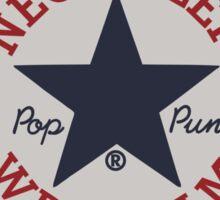 neck deep wrexham converse logo Sticker