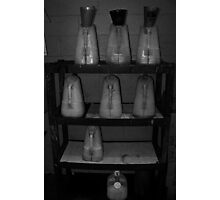 Oil Canisters  Photographic Print