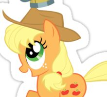 Applejack Didn't Learn Anything Sticker