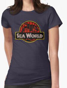 Abusement Park Original (worn) Womens Fitted T-Shirt