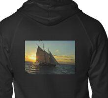 Florida Sailboat Sunset Keys :) Zipped Hoodie