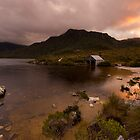 Dove Lake Boathouse by Shelley Warbrooke