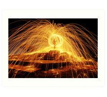 The Ball of Fire Art Print