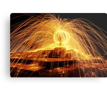 The Ball of Fire Metal Print