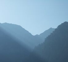 Dawn at Samaria Gorge, Crete by acespace