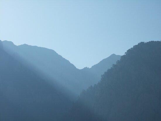 Dawn at Samaria Gorge, Crete by acespace