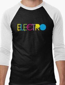 ELECTRO Men's Baseball ¾ T-Shirt