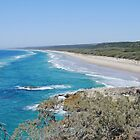 Main Beach, North Stradbroke Island by Graeme  Hyde