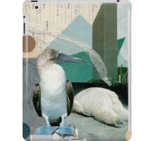 A boobie and a bear in a big city iPad Case/Skin