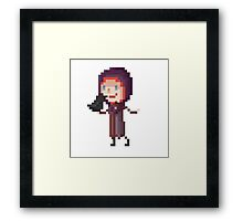 Pixel Leliana - Dragon Age Framed Print
