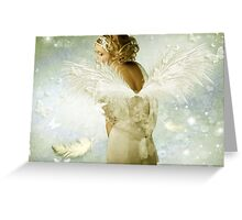 O n e O f T h e S i m p l e s t W a y s T o B e H a p p y Greeting Card