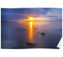 Tralee Bay Sunset Poster