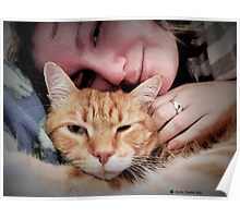 Mother and Fur Child Poster