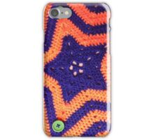 Florida Gator Crocheted Star Blanket iPhone Case/Skin