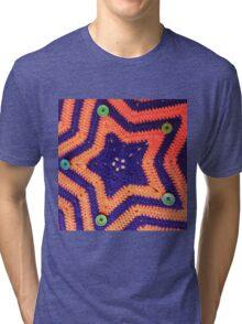 Florida Gator Crocheted Star Blanket Tri-blend T-Shirt