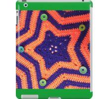 Florida Gator Crocheted Star Blanket iPad Case/Skin