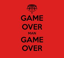 Game Over Man - Black Unisex T-Shirt