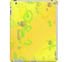 Yellow Electric iPad Case/Skin