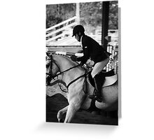 Show Jumping World Cup. Greeting Card