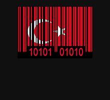 Turkey Barcode Flag Unisex T-Shirt