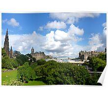 Princes Street Gardens ~ Edinburgh Poster