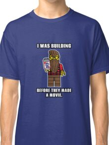 Hipster Lego Classic T-Shirt