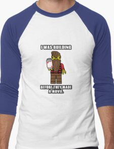Hipster Lego Men's Baseball ¾ T-Shirt