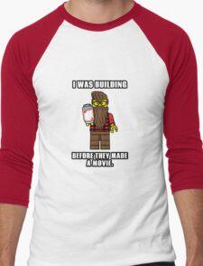 Hipster Lego Men's Baseball ¾ T-Shirt