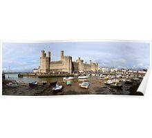 Caernarfon Castle  Poster