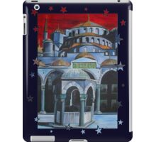 Sultan Ahmed Blue Mosque in Istanbul, Turkey iPad Case/Skin