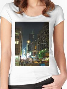 7th Avenue Women's Fitted Scoop T-Shirt