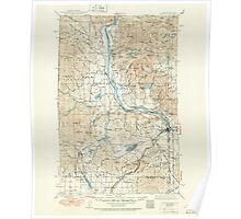 USGS Topo Map Washington State WA Newport 242814 1942 125000 Poster