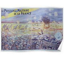 La puissance militaire de la France Poster