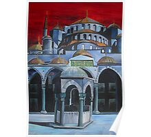 Sultan Ahmed Mosque, Istanbul Poster