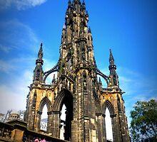 Scott Monument ~ Princes Street Edinburgh by ©The Creative  Minds