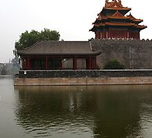 Forbidden City - Corner Towers by gamaree L