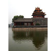 Forbidden City - Corner Towers Photographic Print